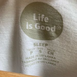 Life Is Good Tops - Life Is Good Espresso Yourself V Neck Tee